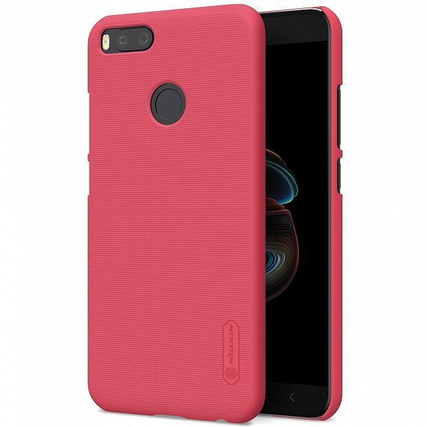 Чехол для Xiaomi Mi A1/5X Nillkin Super Frosted Shield (Red/Красный)