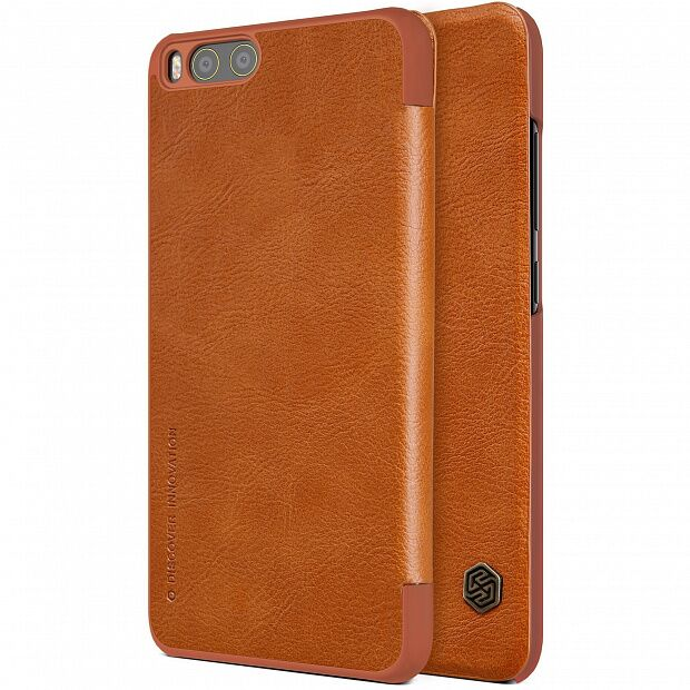 Чехол для Xiaomi Mi6 Nillkin QIN Leather Case (Brown/Коричневый)
